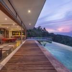 vue côté terrasse - the-naked-house - marc gerritsen - thaïlande