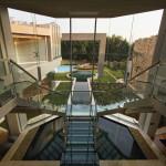 Vue de escalier - Glass House par Nico Van Der Meulen Architects à Johannesburg Afrique du Sud