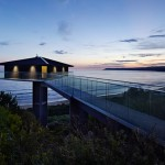 vue extérieure nuit - Bluewave- F2 architecture - Australie