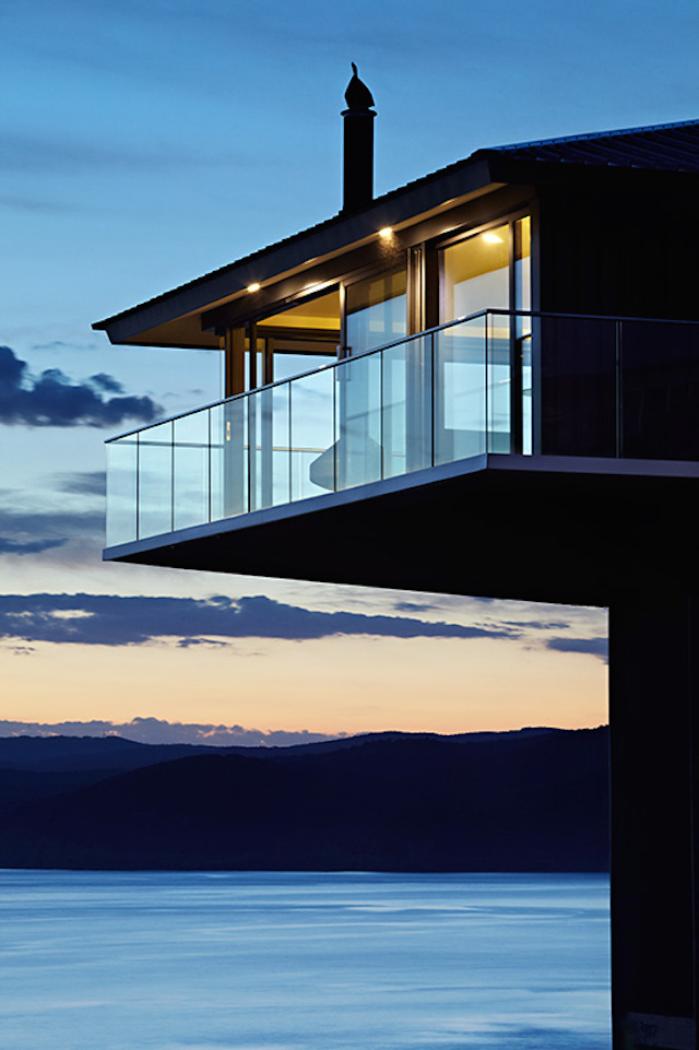 Insolite blue wave house par f2 architecture australie F2 architecture