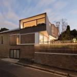 vue nuit - Surélévation - Balmain-Houses-Benn et Penna - Australie