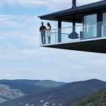 vue terrasse et route - Bluewave- F2 architecture - Australie