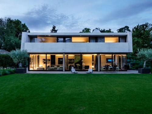 Maison b ton contemporaine 2lb house par rapha l - Maison campagne suisse fovea architects ...