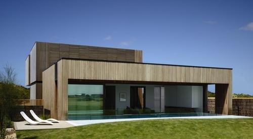 maison bois contemporaine par wolveridge architects torquay australie construire tendance. Black Bedroom Furniture Sets. Home Design Ideas