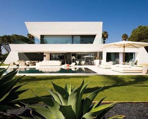 Tr s belle maison contemporaine par a cero andalousie for Maison du monde espagne
