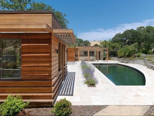 Maison bois east bay house par maccracken architects - Maison contemporaine en beton karaka bay en nouvelle zelande ...