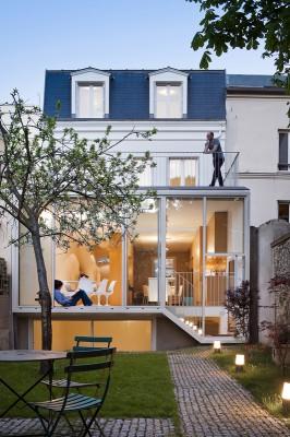 ZUNDEL CRISTEA - maison familiale - vincennes - 2013