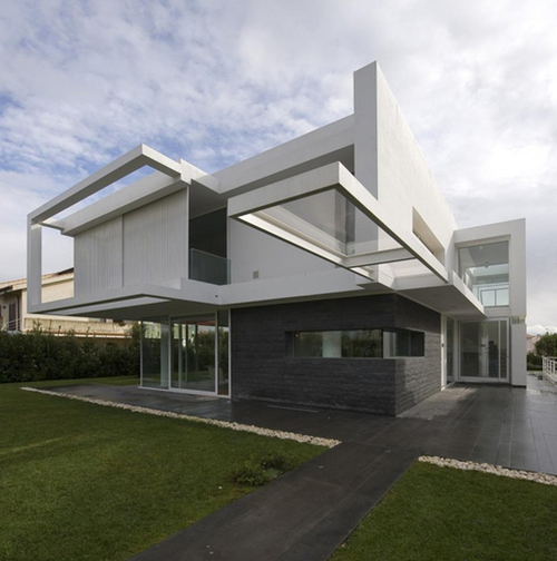 maison contemporaine villa pm par architrend
