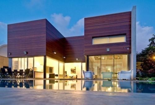 Wooden concrete house par nestor sandbank kfar shmariau - Maison wooden concrete nestor sandbank ...