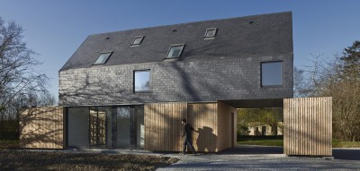 MAISON L. Atelier 56S Architectes.Maison Individuelle.