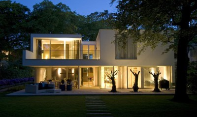Villa contemporaine par Clijsters Architectuur Studio - Bilthoven, Pays-Bas
