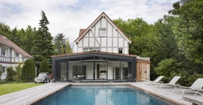 Une - Rénovation Maison V - Olivier Chabaud Architecte - Vilennes s-Seine - France