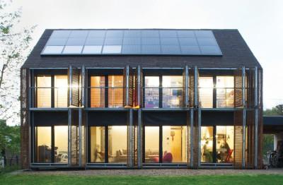 Une - Witzmann résidence par Karawitz Architecture - Bessancourt (95) - France -  Photo Nicholas Calcott