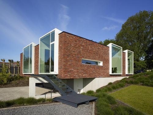 k001 notariaat par atelier vens vanbelle horebeke belgique construire tendance. Black Bedroom Furniture Sets. Home Design Ideas