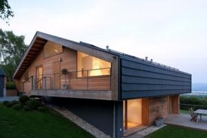 Suisse construire tendance part 2 - Chalet contemporain en bois ...