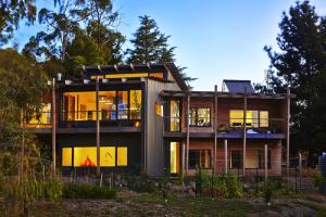 Windiate architects pty ltd construire tendance - La contemporaine villa k dans les collines de nagano au japon ...