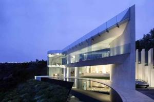 Wallace e cunningham construire tendance - La contemporaine villa k dans les collines de nagano au japon ...