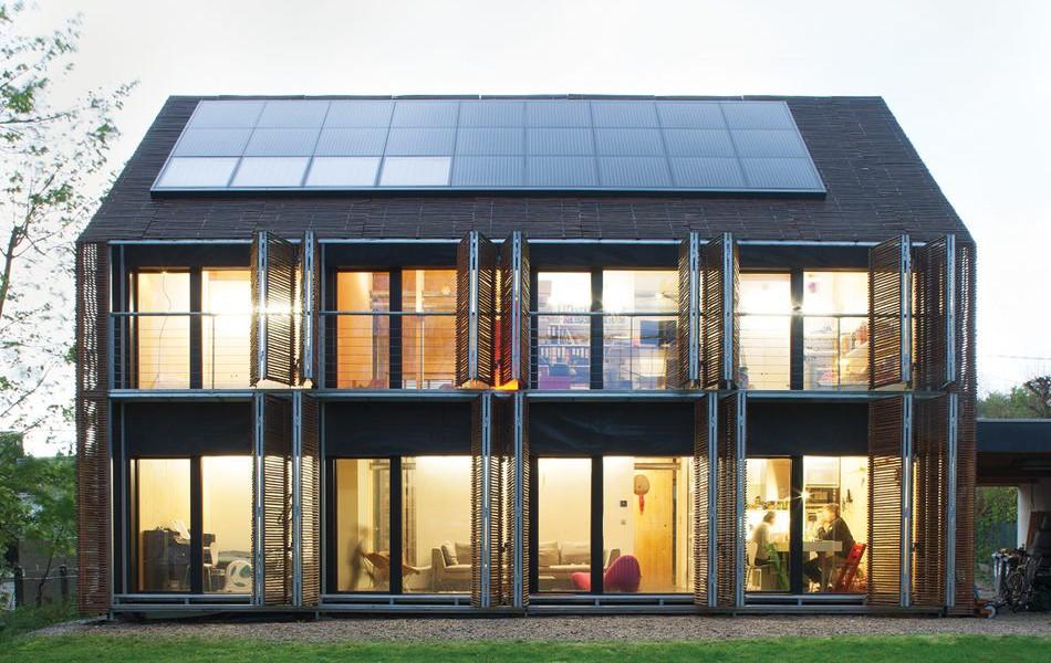 Maison Bois Bambou Passive Par Karawitz Architecture Val D Oise 95 France Construire Tendance