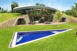 Paraguay construire tendance - La contemporaine villa k dans les collines de nagano au japon ...