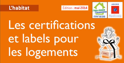 Guide Ademe certifications et labels logements