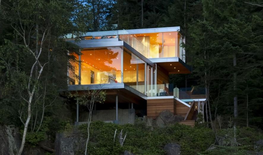 Mcfarlane biggar construire tendance - La contemporaine villa k dans les collines de nagano au japon ...