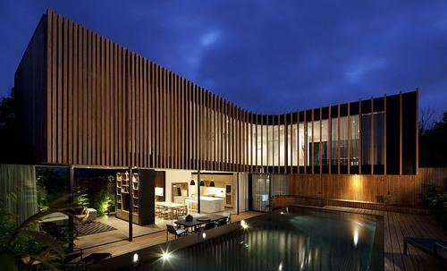 Kooyong residence par matt gibson architecture melbourne australie construire tendance - Melbourne maison moderne australie ...