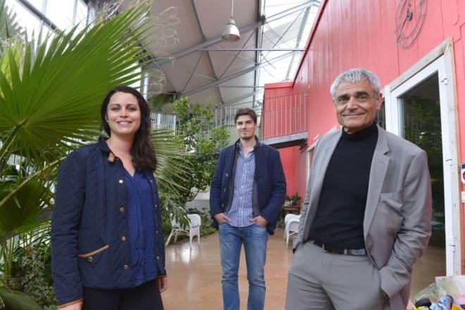 Maison bioclimatique sous serre par Agence Action Architecture - Libourne (33) FR