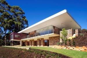 Wright feldhusen architects construire tendance - La contemporaine villa k dans les collines de nagano au japon ...