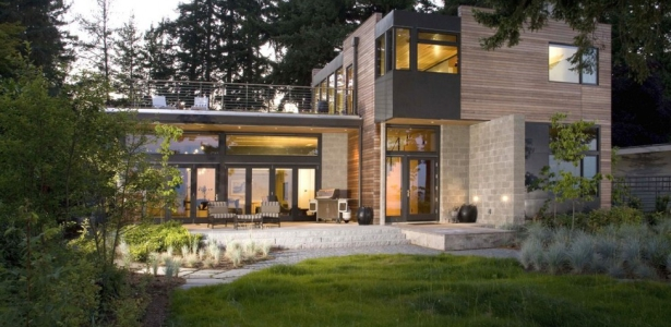 Ellis residence par coates design seattle usa leed platinum construire tendance - Maison river road studio a ...