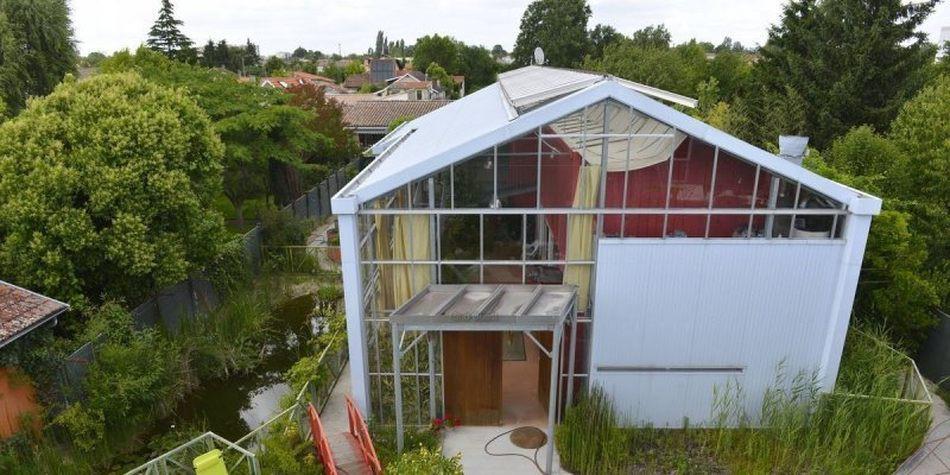 Admirable Maison bioclimatique sous serre par Agence Action Architecture LI-78