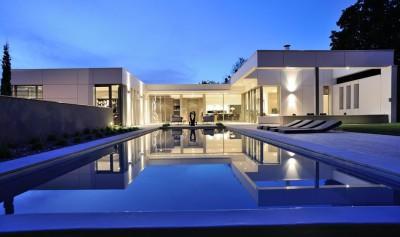 Villa Wa par Laurent GUILLAUD-LOZANNE - Saint-Cyr-au-Mont-d'Or - France