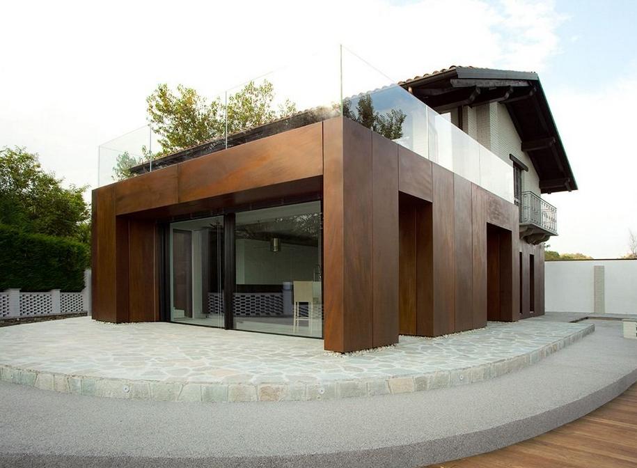 Rénovation et agrandissement dune maison traditionnelle pour sa modernisation