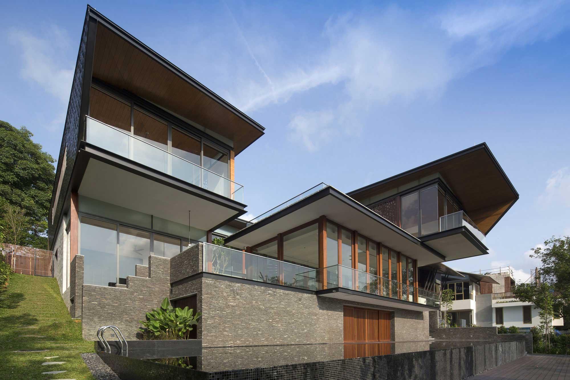 Singapour construire tendance - La residence exotique fish house singapour ...