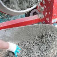 préparation du béton de chanvre - Hempcrete