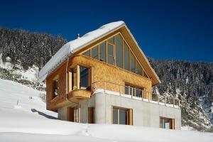 Chalet contemporain construire tendance - Chalet contemporain en bois ...