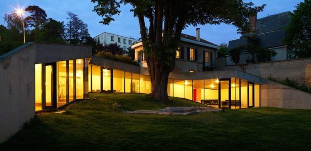 Maison plj par hertweck devernois architectes urbanistes for Construire maison yvelines
