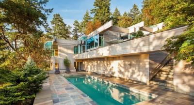 villa contemporaine en bois par Daniel Evan White - Saanich, Canada