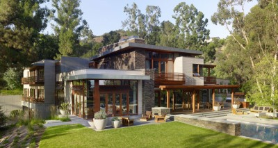 Mandeville Canyon Residence par Rockefeller Partners Architects - Los Angeles, Usa