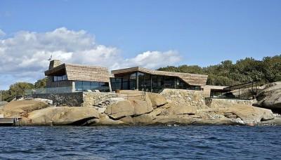 Maison bois et pierre par jarmund et vigsnaes architects - Vestfold, Norvège