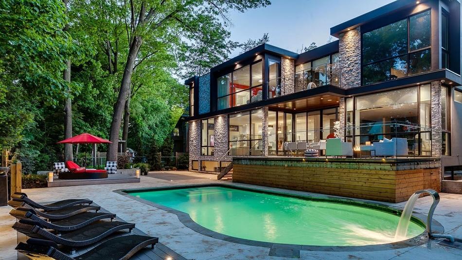 Construire tendance inspirer votre projet - Maison moderne toronto par studio junction ...