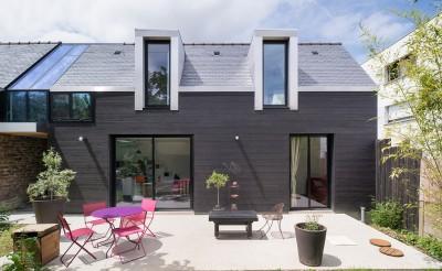 maison entre deux par Clément Bacle - Rennes, France - photo Martin Argyroglo