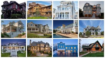 Maisons typiques américaines