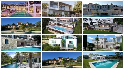 12 villas Côte d'Azur