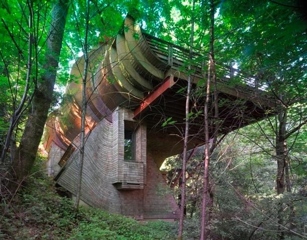 Focus sur l 39 architecture organique construire tendance - La residence kitchel par boora architects ...
