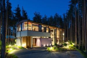 Estonie construire tendance - La contemporaine villa k dans les collines de nagano au japon ...