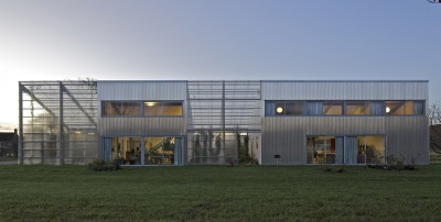 maison agence par hérard & da costa portada -Neuville-sur-Seine, France - photo philippe ruault