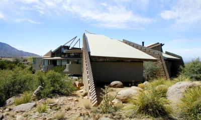 Bart Prince's Scherger-Kolberg residence par Andrew T Boyne Architect - Albuquerque, New Mexico