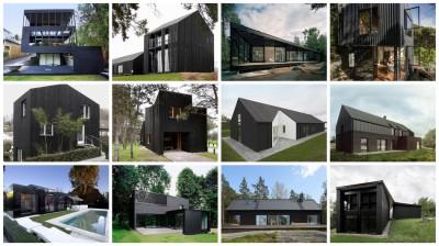 maisons noires