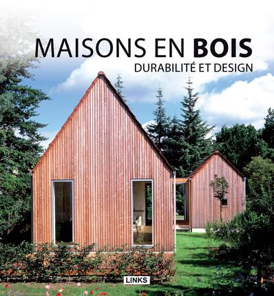 livre - maisons en bois, Durabilité et design par  Jacobo Krauel