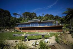 Maison contemporaine construire tendance part 60 - Maison contemporaine en beton karaka bay en nouvelle zelande ...